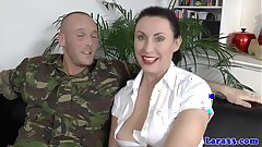 Euro mature in stockings bootie banged
