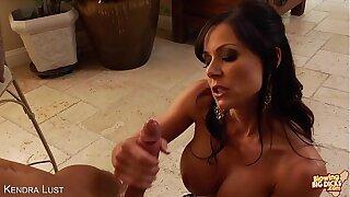 Sexy milf Kendra Passion suck a big cock