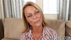 Sexy mature in a pounding action