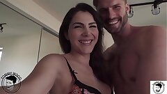 Spunky date ass eating with all natural enormous rump cougar Valentina Nappi