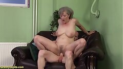 nasty 76 years old grandmother first time large cock fucked