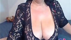 Sexy Scorching Granny Displaying Her Body On Cam - gspotcam.com