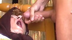 chubby hairy grannie outdoor fucked by a youthfull man