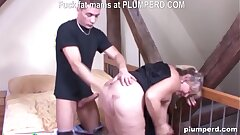 Fat German granny drilled so hard she can't believe it