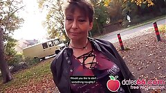 UGLY and Aged - MILF, almost GRANNY public ravage & no regrets Rubina dates66.com