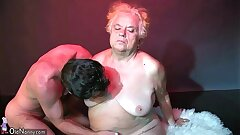 OldNanny Humungous big granny have a sex with young fellow