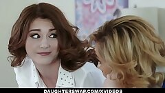 DaughterSwap - Two Red-hot Daugthers Get Fucked By Their Slutty Moms