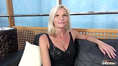 Fakeshooting - MILF Clarisa Strips & Fucks For An Audition with Wendy Moon