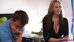 MomsTeachSex Young duo romps hot mommy
