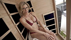 Nude Sauna Fun With My Buddies Hot Mommy Part 1 Cory Chase