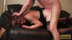 PASCALSSUBSLUTS - MILF Filthy Emma Predominated After Face Fuck