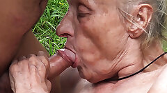 ugly 86 year older mother banged in public