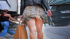 cougar legs with upskirt