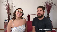 MILF Mia with big jugs and Dave at a Casting, Desperate Amateurs