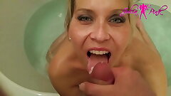 Julia Pink - Swallowed and licked part 3