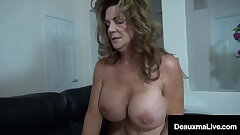 Immense Dick Debt Collector Collects On Texas Cougar Deauxma!