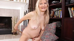 Yankee granny Claire knows how to make your cock rigid