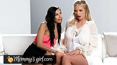 MommysGirl Naughty Gianna Dior Is Hungry For Her Step-MILF